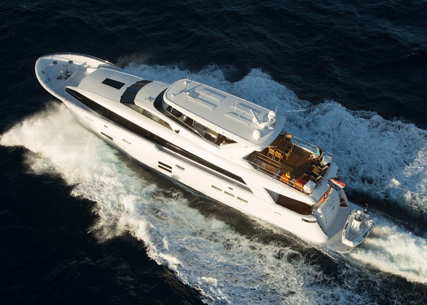 Hatteras 100 Raised Pilothouse Motor Yacht